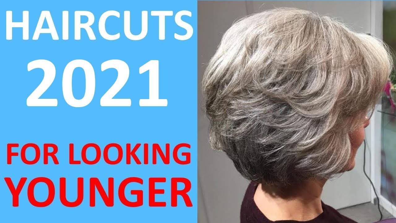 Spring Fashion Short Haircuts 2021 For Older Women 50 60 70 Youtube