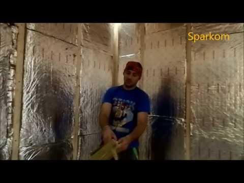 видео: Какой утеплитель использовать в парилке