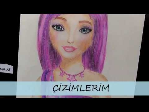 Barbie Popstar Keira çizimi / How  to draw  Popstar Keira from barbie