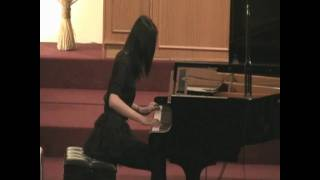 Didi Xiong plays Studies in Line (ARCT) by Barbara Pentland