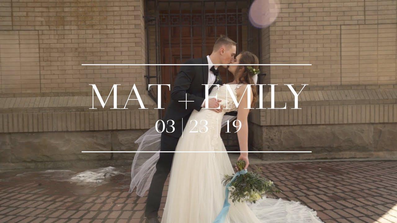 """You Were Jesus To Me"" | Haley Wedding"