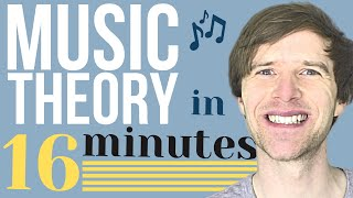Music Theory in 16 Minutes (harmonica version)