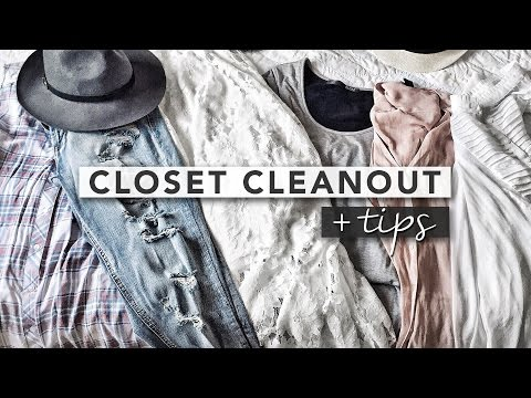 Tips for Cleaning Out Your Closet | SPRING CLEANING