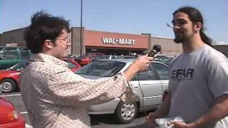 WALMART PARKING LOT INTERVIEW w/ HOWARD PLUM