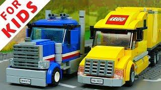 LEGO Trucks . Lego cars for kids