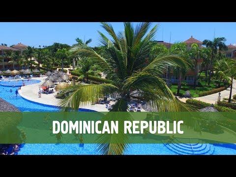 Dominican Republic  Aerial DroneVideo (HD) - Punta Cana Drone Video, Bavaro, Santo Domingo 2017