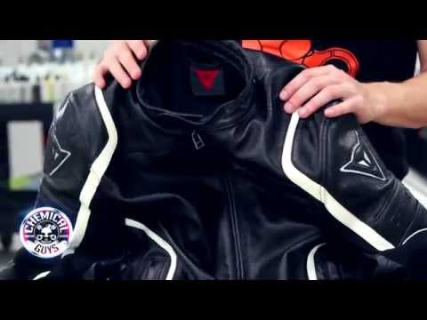 How To Clean Leather Jacket - Chemical Guys Dainese Motorcycle