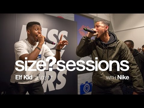 size? sessions - Elf Kid