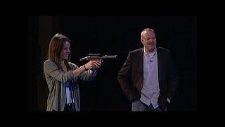 Stefan Raab lässt auf seine Gäste schießen - TV total