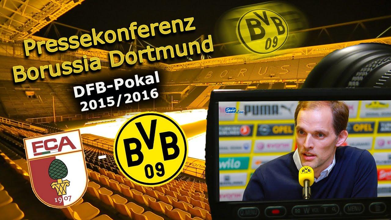 BVB-Pressekonferenz zum DFB-Pokalspiel gegen den FC Augsburg