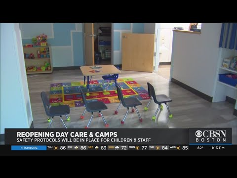 Daycare Centers Prepare To Reopen With New Coronavirus Safety Guidelines