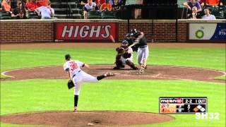 Ryan Flaherty - Baltimore Orioles Rookie Highlights HD