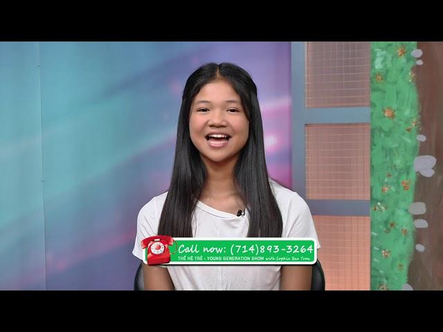 Thế Hệ Trẻ Phần 2 SOPHIE BAO TRAN MAI THY KAYLYNN CAO MINH HUNG