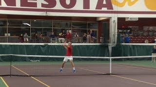 Local singles and doubles players advance to state