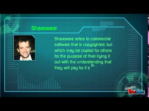 Freeware and Shareware