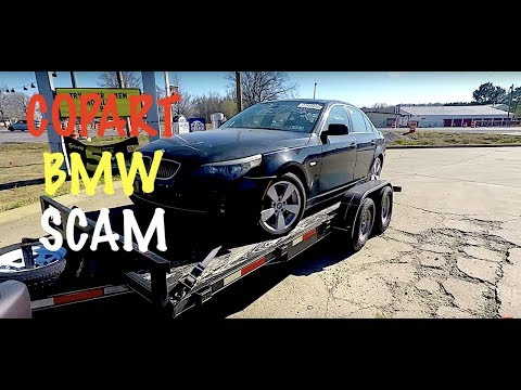 Copart BMW E60 Purchase Gone Wrong