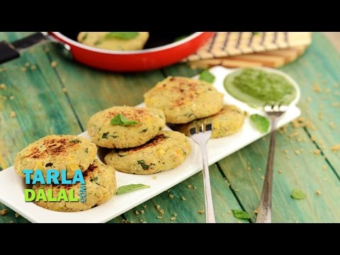 Chick Pea and Soya Tikki (Healthy Heart & Low Cholesterol Snack) by Tarla Dalal