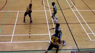 20161121 屯門學界籃球賽 A grade 冠軍戰 【馬可賓 vs 邱子田】