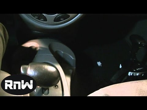 Automatic Shifter Assembly Replacement Procedure