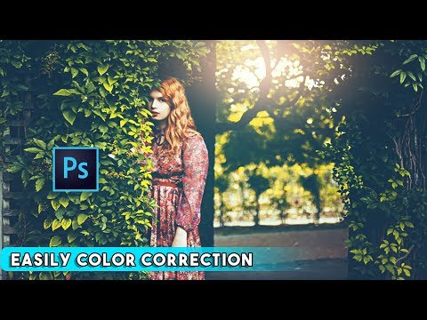 Easily The Complete Color Correction Process in Photoshop cc Tutorial