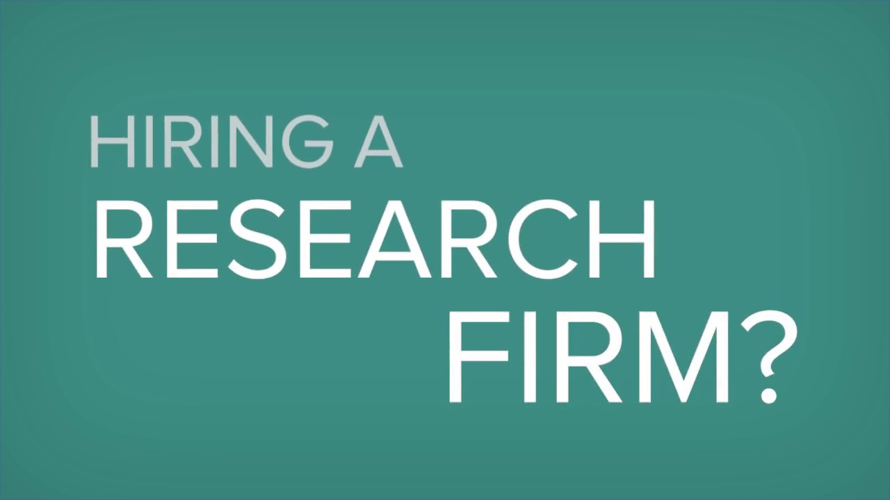 Market Research RFP Template