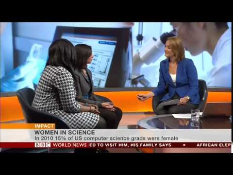 Anne-Marie Imafidon on BBC World News - YouTube