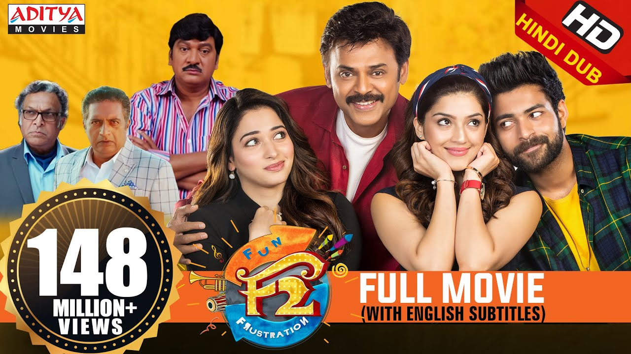 F2 New Released Hindi Dubbed Full Movie | Venkatesh, Varun Tej, Tamannah,  Mehreen