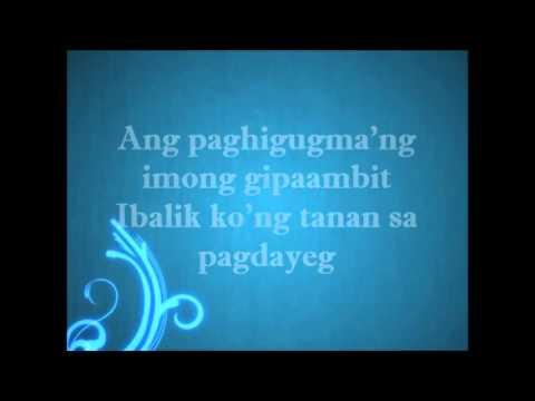 Bag-ong Paglaum by Rene Angub(lyric video)