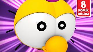Çatlak Yumurtalar: Çok Komik 8 Bölüm Bir Arada 😬😬😬 | Türkçe Çizgi Film