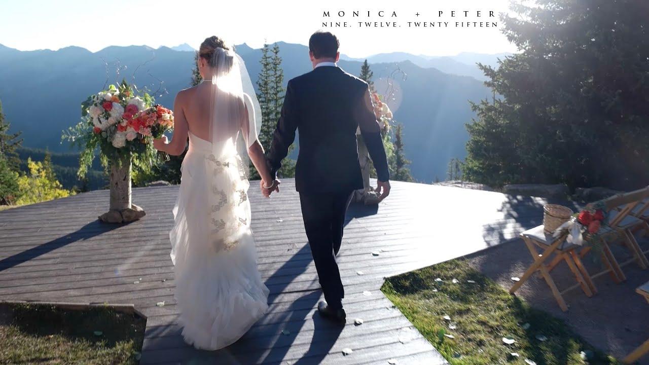 Monica Peter Aspen Wedding Deck The Little Nell Amazing You