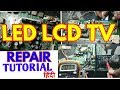 LED LCD TV Repairing Tips in Hindi ! NO Power ON ! NO Sound testing