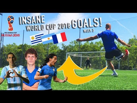 recreating world cup 2018 goals pavard di maria amp more