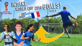 RECREATING WORLD CUP 2018 GOALS! Pavard, Di Maria & more!
