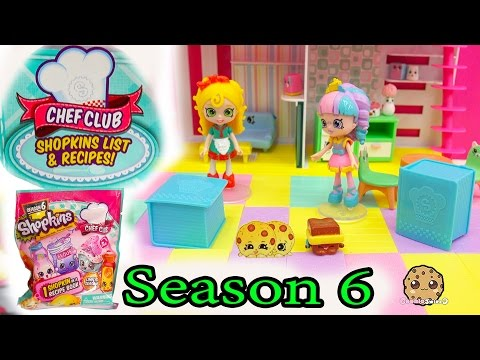 2 Season 6 Shopkins Chef Club Surprise...
