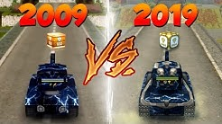 Tanki Online 2009 VS 2019