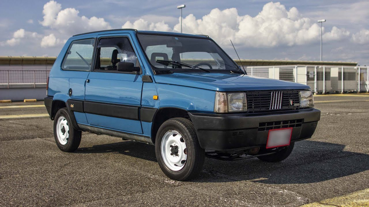 1990 fiat panda 4x4 ie walk around and test drive youtube. Black Bedroom Furniture Sets. Home Design Ideas