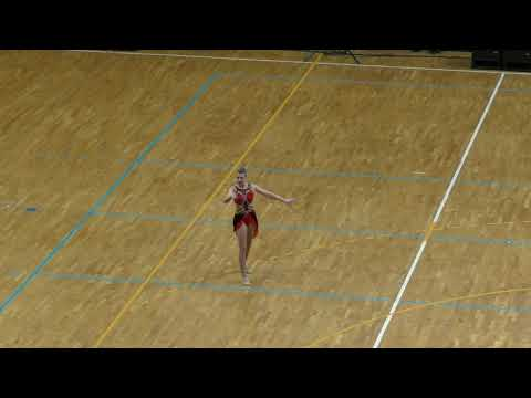 Danique Visker world championship baton twirling 2018
