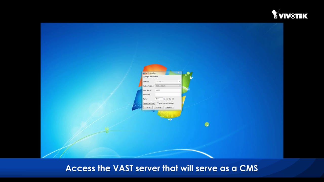 How to add an NVR to VAST as a substation mp4