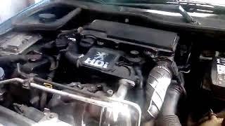 Despercto de un inyector del motor peugeot 206 HDI| el inyector (parte 1)