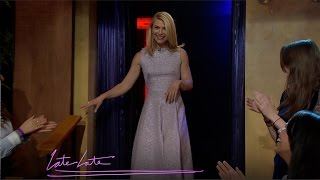 Drunk Claire Danes Is a Bossy Dancer