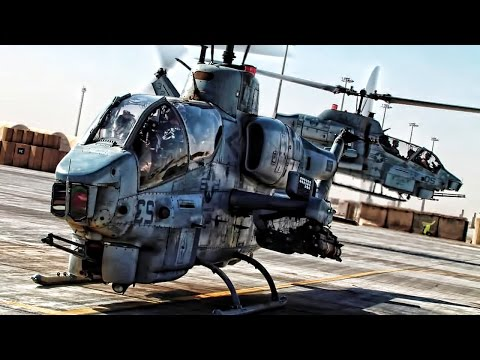 AH-1W Super Cobra Weapons Demonstration