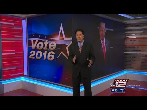Video: Texas Secretary of State encourages people to vote, even if they dislike both candidates