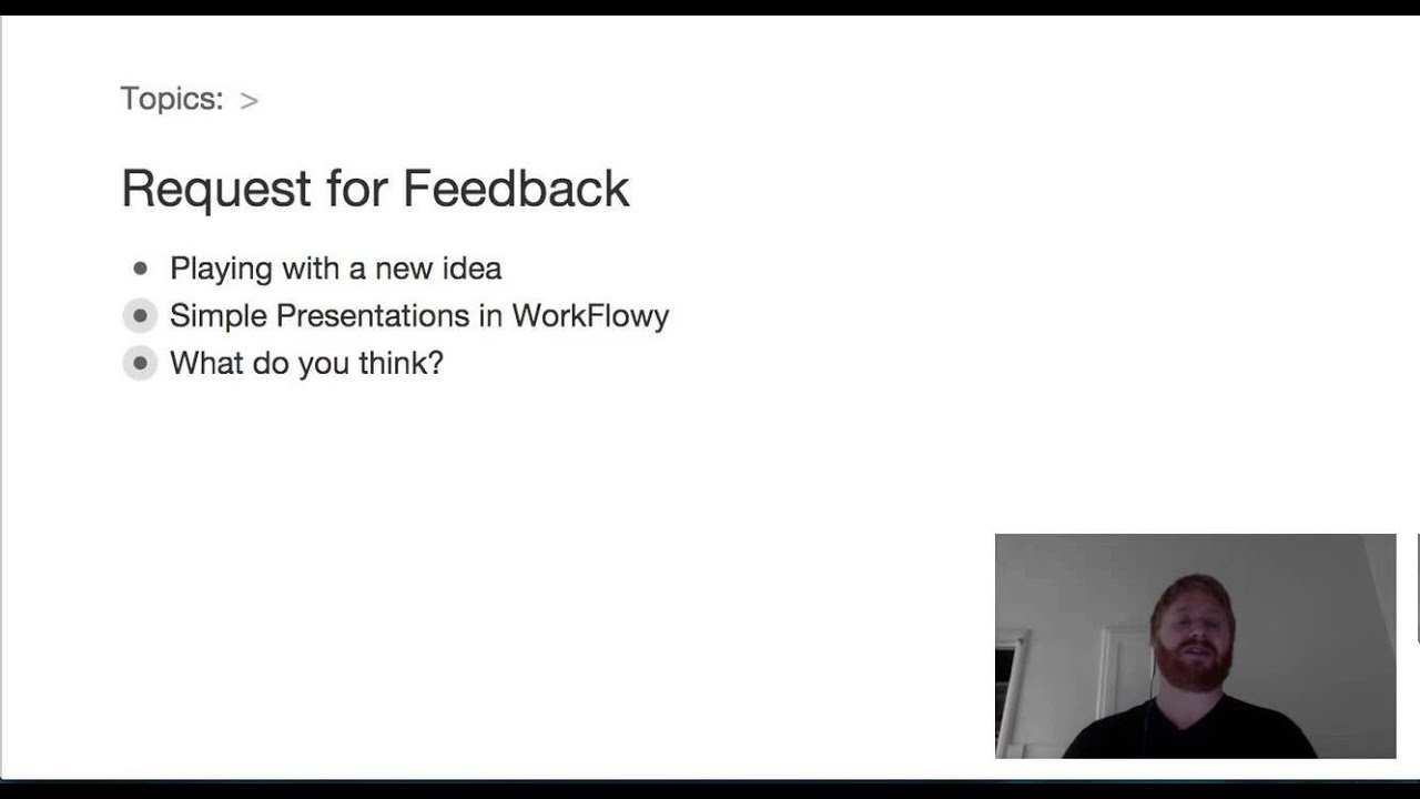 idea workflowy presentations idea workflowy presentations
