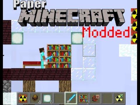Paper Minecraft Mod Showcase
