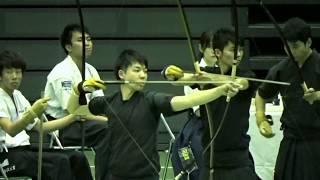 第65回全日本学生弓道選手権大会 男子団体 日大 新井恵理那 検索動画 20