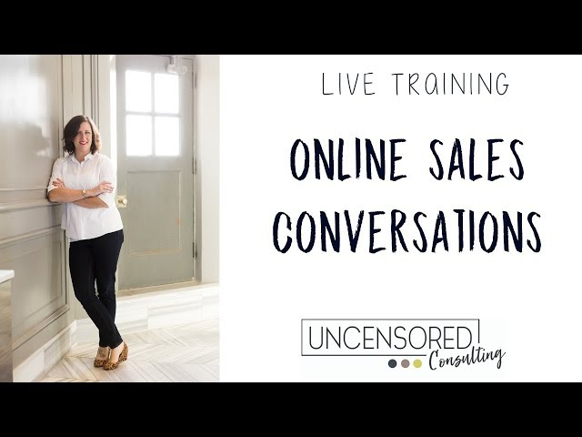 Online Sales Conversations