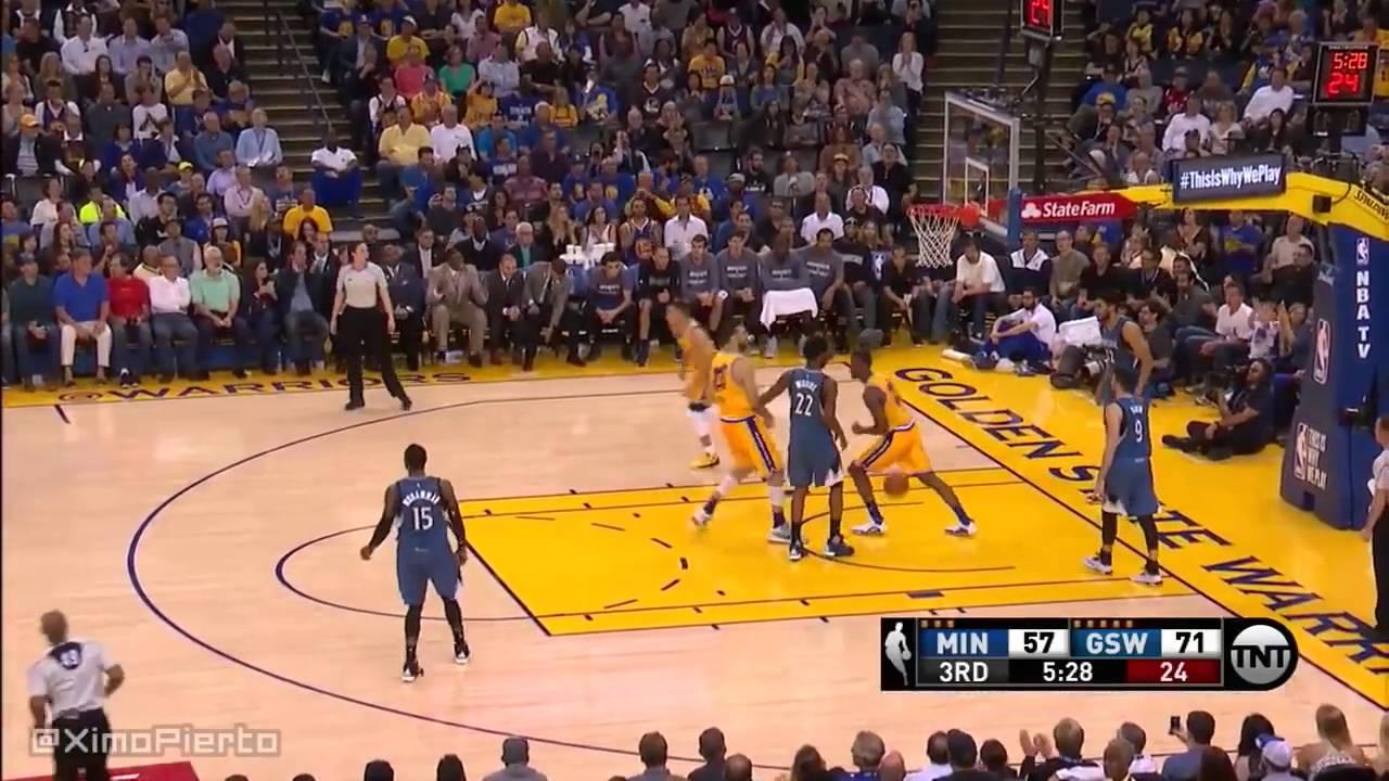 Golden State Warriors vs Minnesota Timberwolves @ Home - Full Game  April 5, 2016