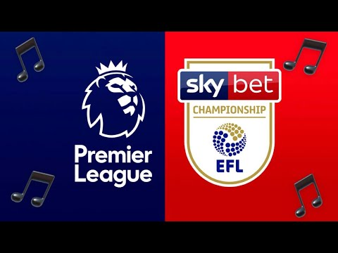 Football clubs theme songs (Premier League and Championship 2015/16)
