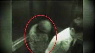 엘레베이터 타면 따라오는 이상한 할아버지의 정체