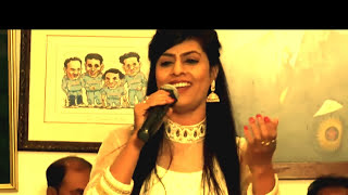 O Mere Dil Kay Chain | Sarrika Singh | Live